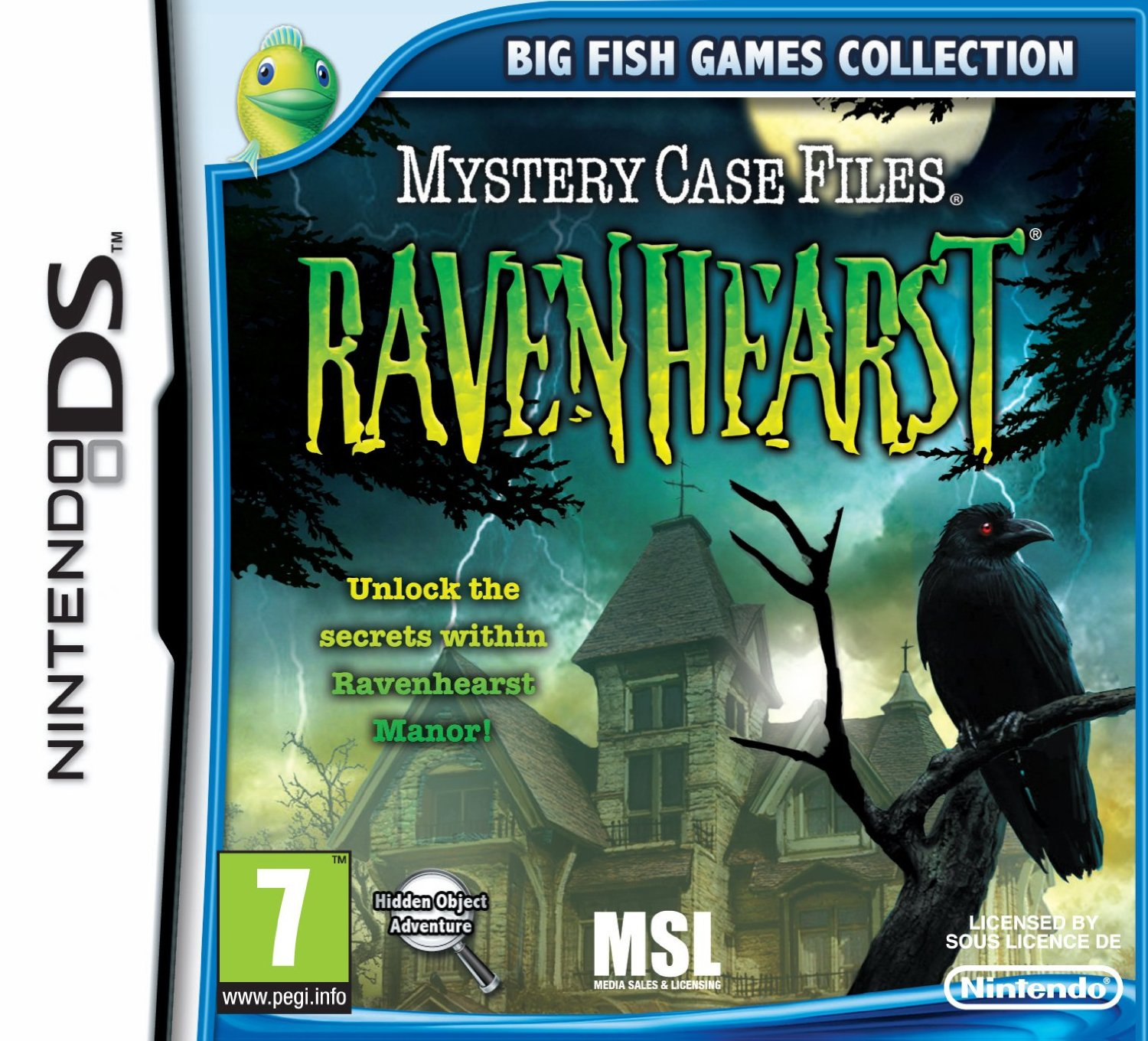 Boxshot Mystery Case Files: Ravenhearst