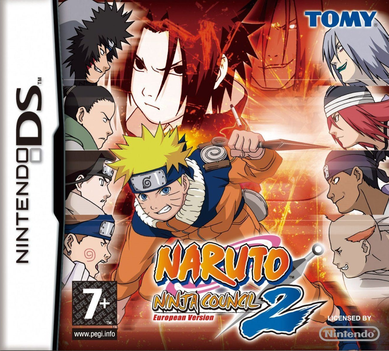 Boxshot Naruto: Ninja Council 2 European Version