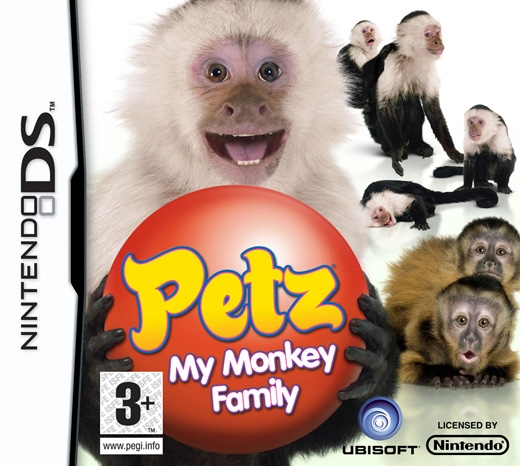 Boxshot Petz: My Monkey Family