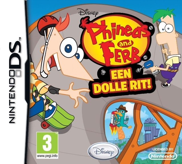 Boxshot Phineas and Ferb: Een Dolle Rit