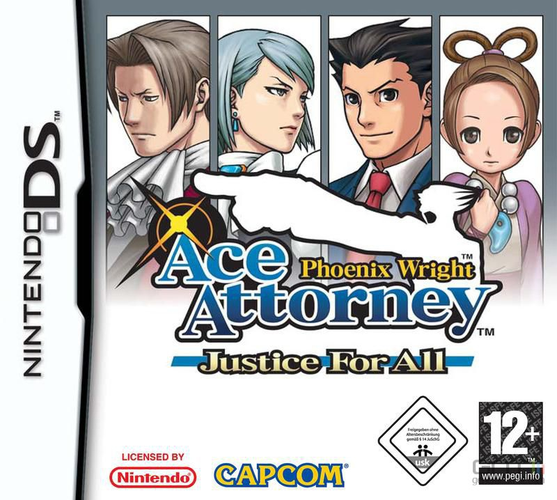 Boxshot Phoenix Wright Ace Attorney: Justice for All