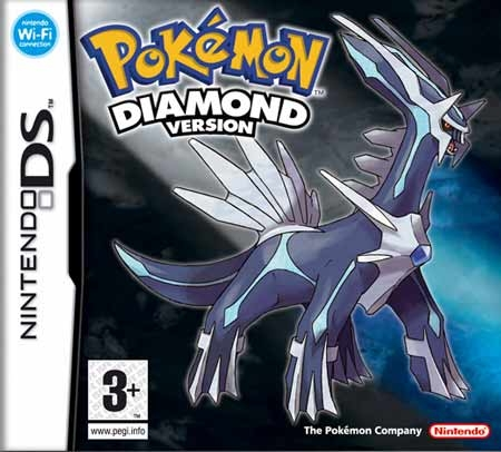Boxshot Pokémon Diamond Version