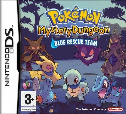 Boxshot Pokémon Mystery Dungeon: Blue Rescue Team