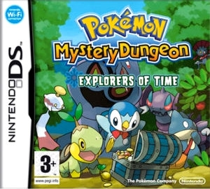 Boxshot Pokémon Mystery Dungeon: Explorers of Time