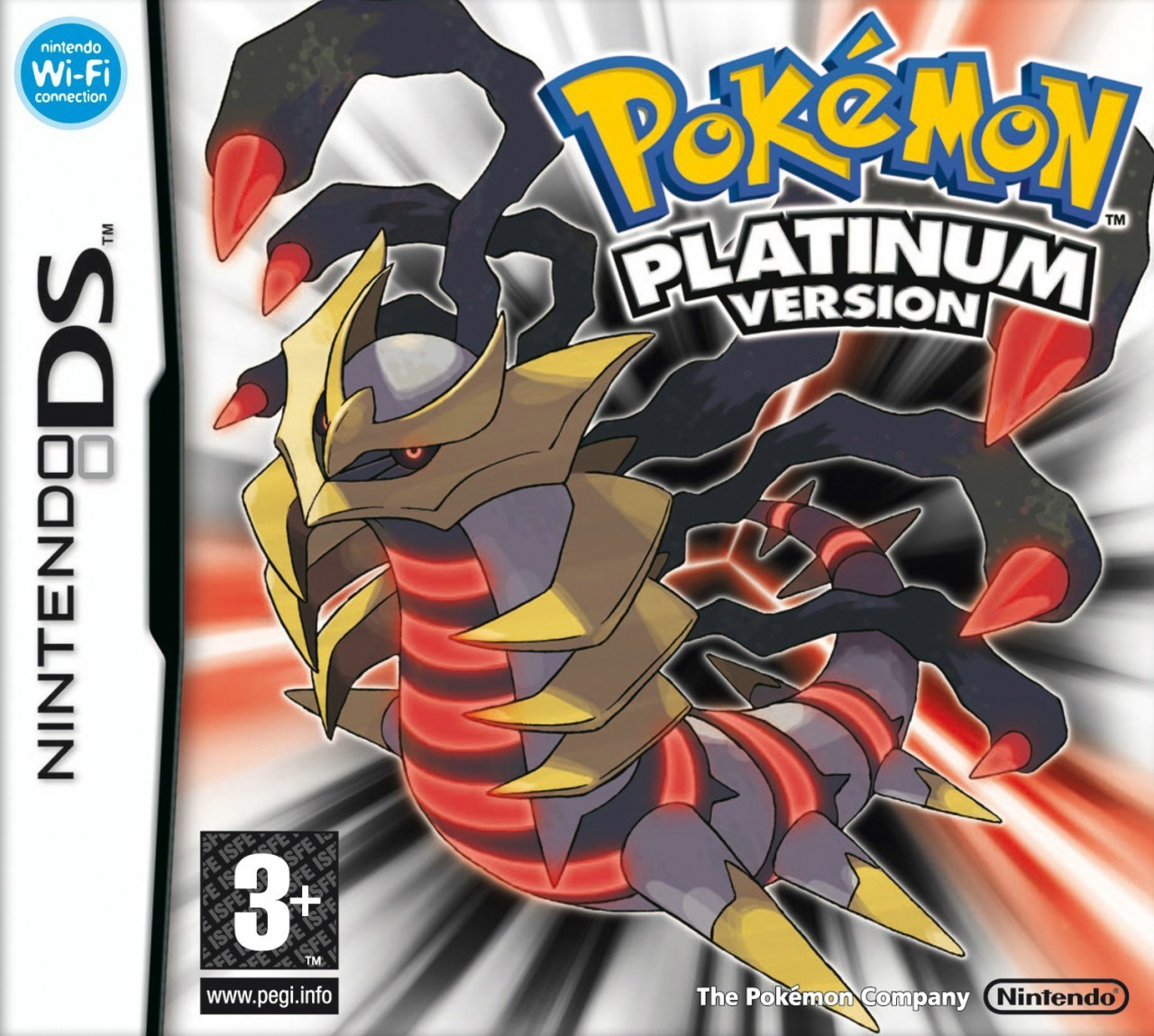 Boxshot Pokémon Platinum Version
