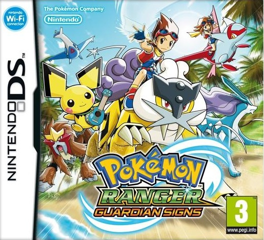 Boxshot Pokémon Ranger: Guardian Signs