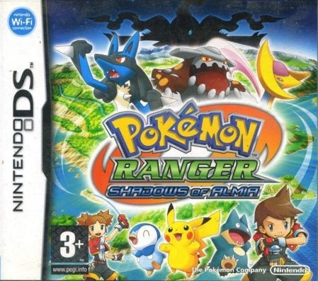 Boxshot Pokémon Ranger: Shadows of Almia