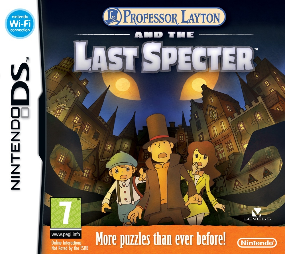 Boxshot Professor Layton and the Last Specter