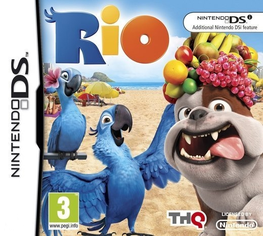 Boxshot Rio: The Video Game