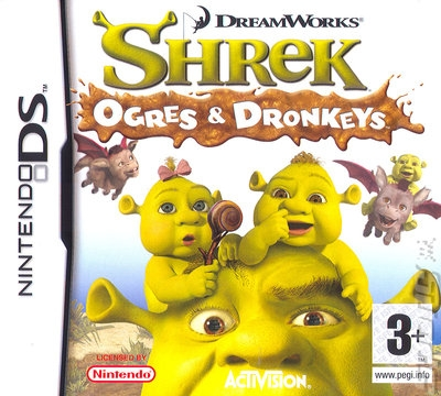 Boxshot Shrek: Ogres and Dronkeys