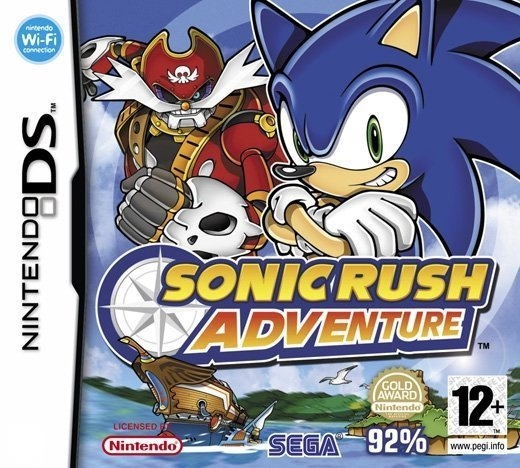 Boxshot Sonic Rush Adventure