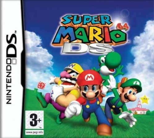 Boxshot Super Mario 64 DS