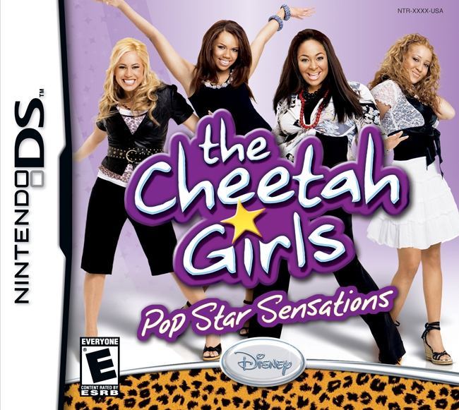 Boxshot The Cheetah Girls Pop Star Sensations