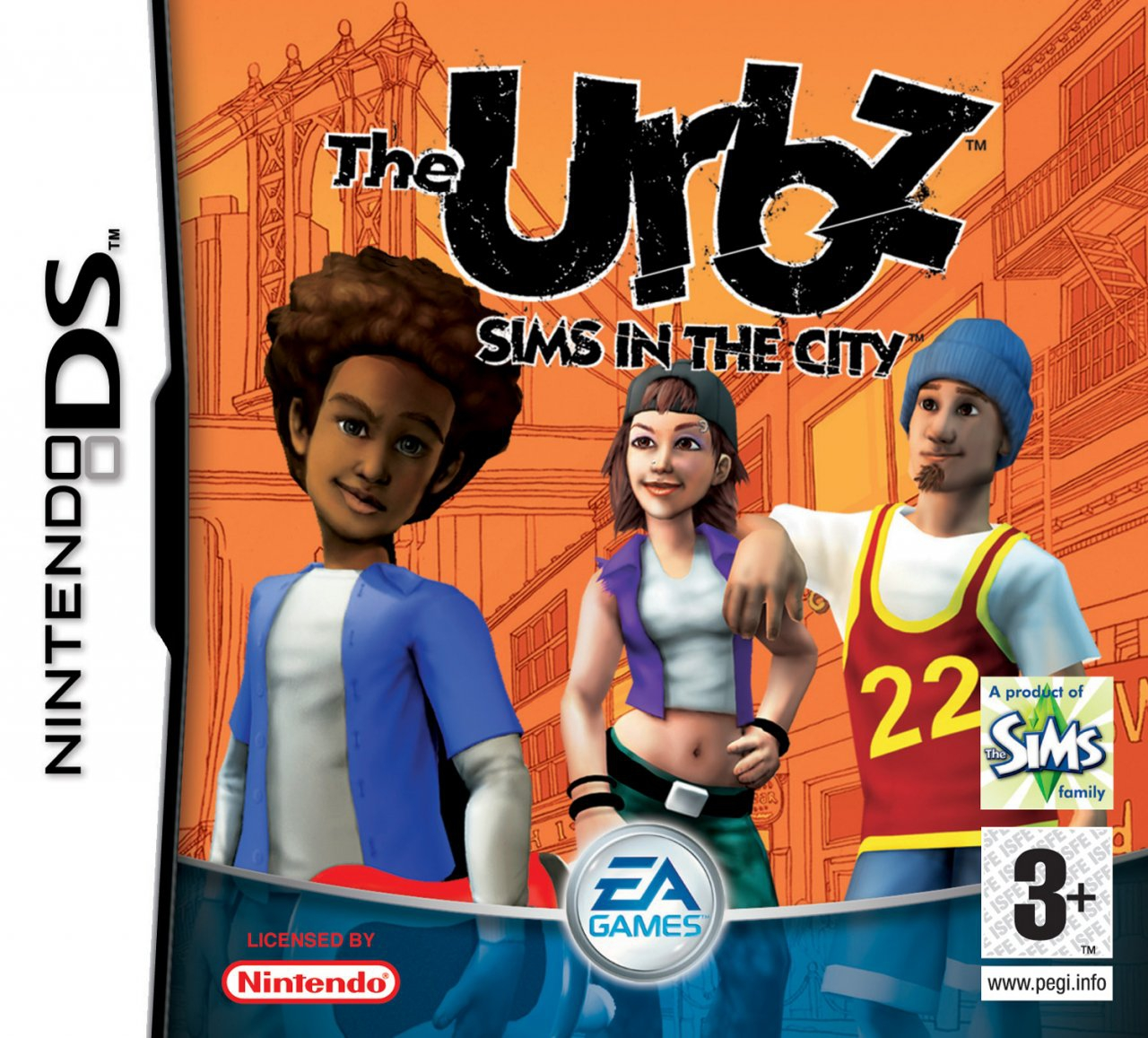 Boxshot The Urbz: Sims in the City