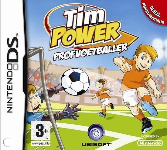 Boxshot Tim Power: Profvoetballer