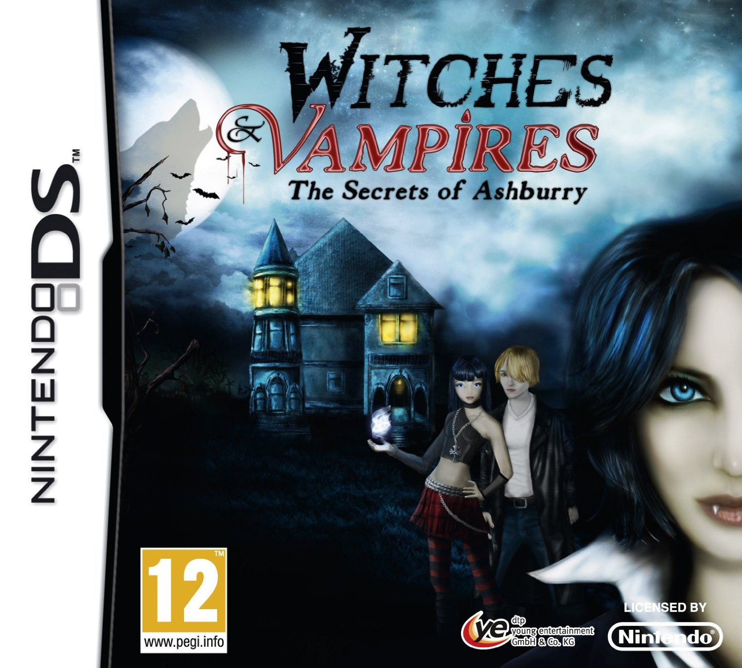Boxshot Witches & Vampires: The Secrets of Ashburry