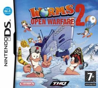 Boxshot Worms: Open Warfare 2