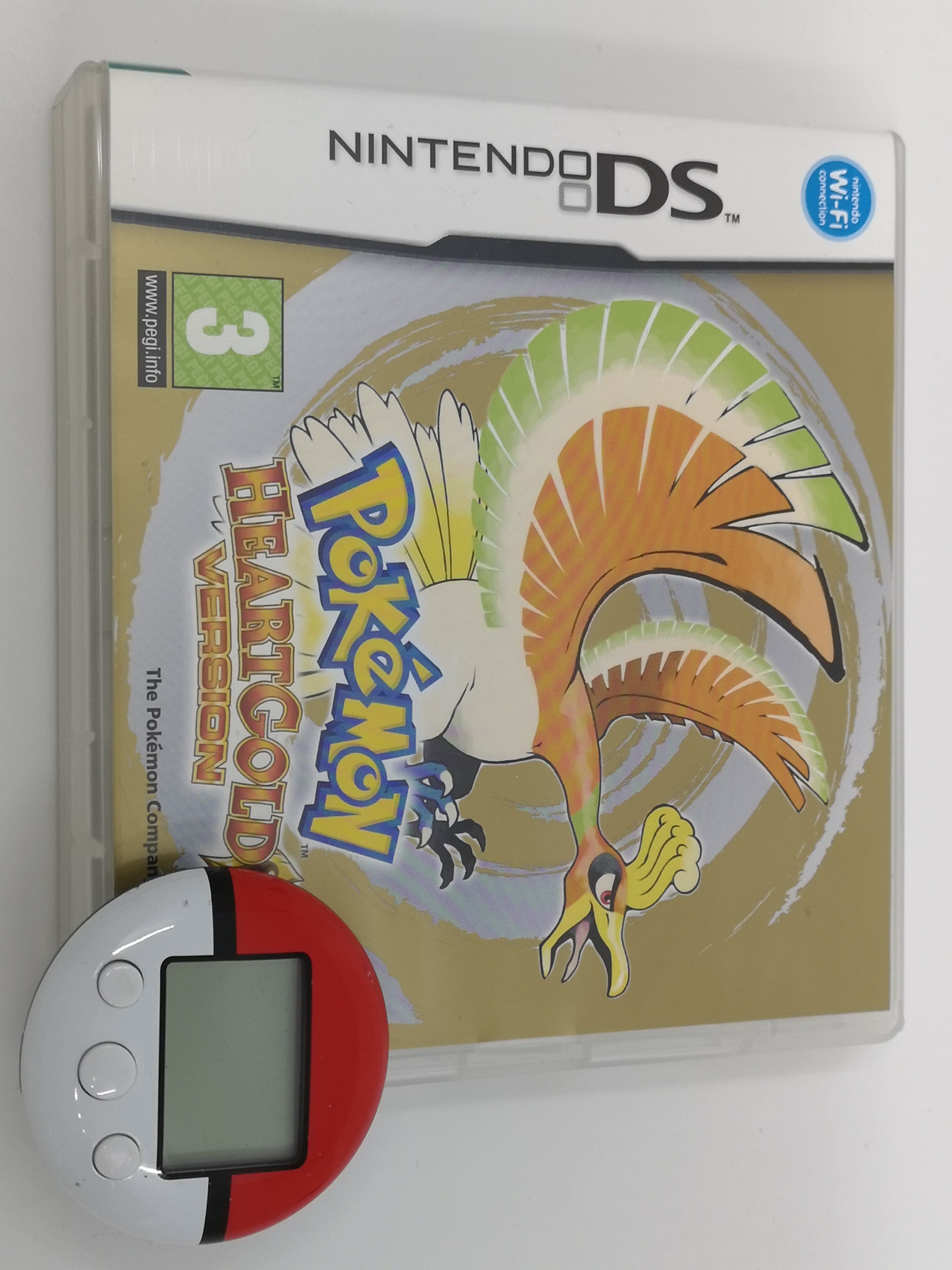 Foto van Pokémon HeartGold Version & PokéWalker in Doos