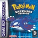Pokemon Sapphire Version voor GameBoy Advance