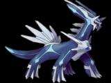 Een legendarische Pokemon genaamd Dialga. Verkrijgbaar in Pokemon Diamond.