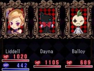 Op het onderste scherm van je DS krijg je je 'health power' en 'magic points' te zien.