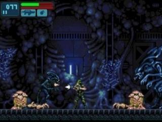 Het spel is een 2D-platformer, het lijkt een beetje op Metroid!