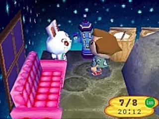 De tijd gaat in Animal Crossing: Wild World net zo snel als in de echte wereld!