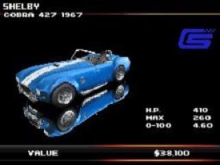 Een Urban GT!<br /> 1 van de vele auto's van het spel.