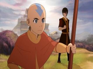 Speel als Aang, de jongen die alle elementen weet te beheersen!