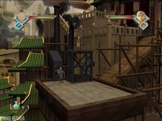 Avatar De Legende van Aang - De Brandende Aarde: Screenshot