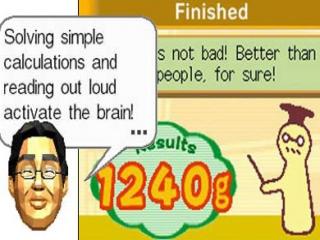 Ook Dr. Kawashima is van de partij.