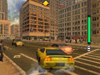 Scheur undercover rond in New York City en red de stad.