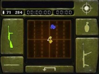 Wissel van wapen en richt op vijanden met de stylus en het <a href = https://www.mariods.nl/nintendo-ds-spel-info.php?Nintendo=Nintendo_DS target = _blank>Nintendo DS</a>-touchscreen.