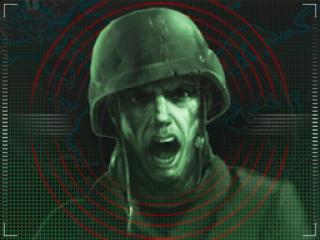 Speel soldaatje in een futuristische oorlog.