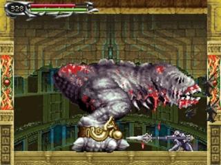 Het spel heeft een typisch gothische stijl zoals veel Castlevania spellen.