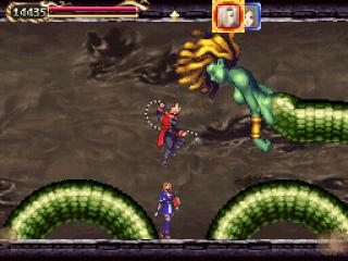 Deze game zit vol eindbazen waar de castlevania om bekend staat.