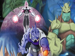 Chronos Twins: Afbeelding met speelbare characters
