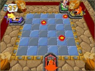 Dit spel een grote partygame met Crash en zijn vrienden/vijanden!