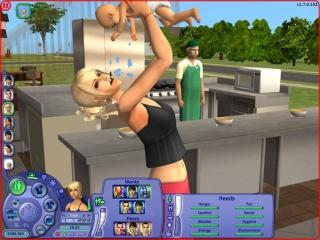 Jij leidt het leven van de Sim,ga je de hele dat op de bank zitten of ga je werken? Het is jouw keuze!