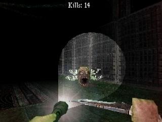Dementium is een uiterst spannende horrorgame op de DS.