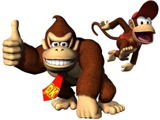 Speel als Donkey Kong en zijn trouwe maatje Diddy Kong!
