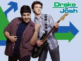 Herken je ze nog? Het zijn Drake & Josh van de Nickelodeon serie.
