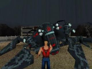 De boss battles zijn volledig in een third-person jasje.