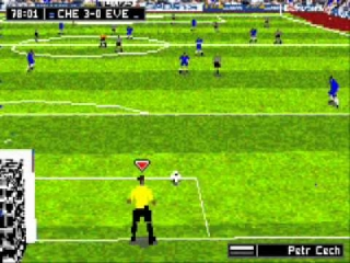 Neem de doeltrap met keeper Peter Cech!