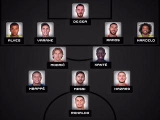 Speel als voetbal-teams van over de hele wereld in FIFA 11!