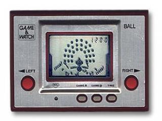 De games zien er uit als de originele LCD-schermen uit de jaren 80!