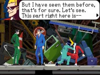 Dit spel is gemaakt door de bedenker van de bekende Ace Attorney-reeks.
