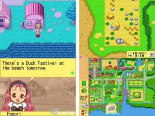 Harvest Moon DS: Screenshot