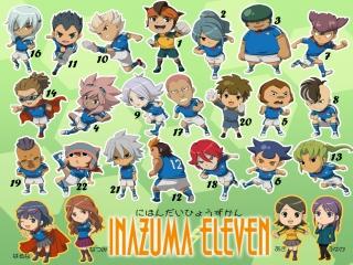 Speel als tientalleen verschillende spelers uit de TV serie Inazuma Eleven. Maak je eigen team!