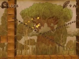 Teken lijnen op het touchscreen om Ivy veilig en wel het level te laten eindigen, een beetje zoals in <a href = https://www.mariods.nl/nintendo-ds-spel-info.php?Nintendo=Kirby_Power_Paintbrush>Kirby: Canvas Curse</a>.